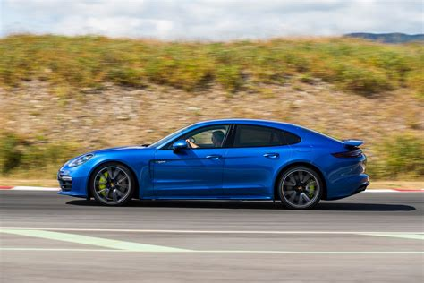 blue porsche panamera panamera turbo s e hybrid sapphire blue metallic the
