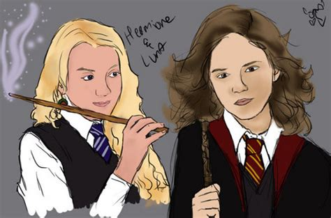 Lovegood And Hermione Granger by Hermione Granger And Lovegood Friendship Images