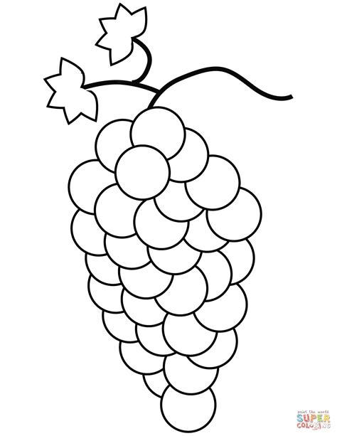 grapes coloring pages to print grapes coloring page free printable coloring pages