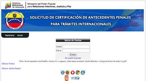 puedo sacar mis antecedentes penales por internet puedo como puedo tramitar los antecedentes penales en html