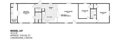 16 wide mobile home floor plans awesome 16 wide mobile home floor plans new home plans
