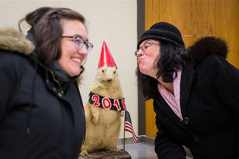 groundhog day larry ridge lea larry predicts six more weeks of winter ub now