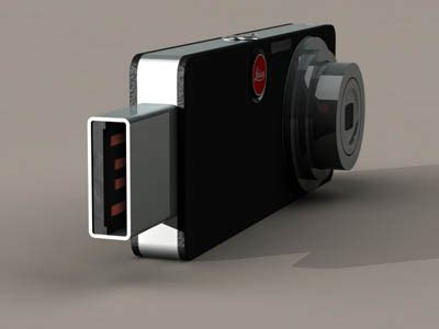 blending leica digital camera with usb drive tuvie