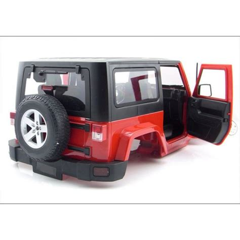 jeep wrangler rubicon rc 1 10 scale rc jeep wrangler rubicon plastic kit
