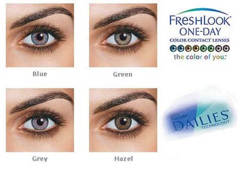 freshlook one day colour contact lenses welovelenses.com