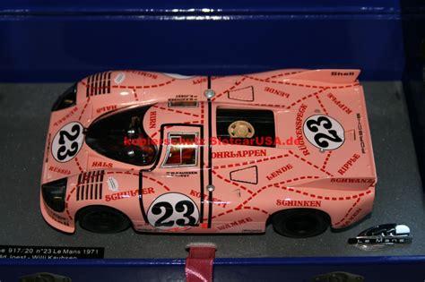 Porsche Sau by Porsche 917 20 Nr 23 Sau Le Mans 1971 Slotcarusa