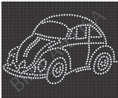 bling templates volkswagen beetle rhinestone downloads slug bug files