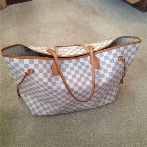 Lv 02 Wina Set Navy 18 louis vuitton handbags sold locally lv neverfull gm damier azur from helen s closet