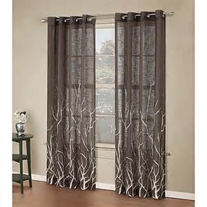alton print grommet window curtain panel bed bath amp beyond bugs amp leaves shower curtain bed bath amp beyond