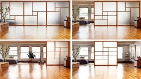 studio apartment room dividers interior glass walls residential ikea studio apartment