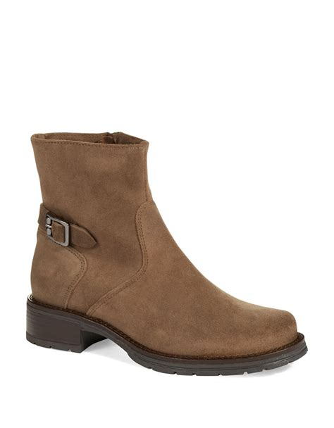 la canadienne boots la canadienne georgy waterproof ankle boots in brown for