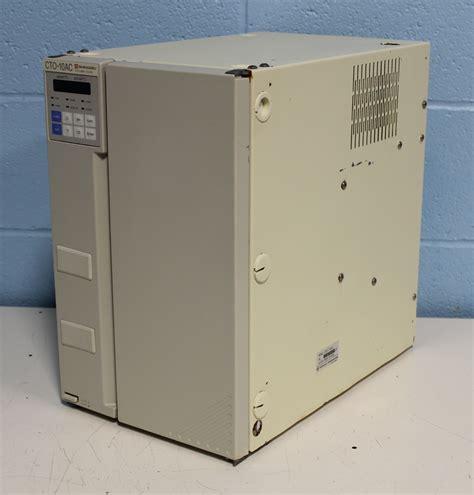 Cto 10 Zerro refurbished shimadzu cto 10ac column oven