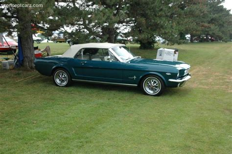 facts about the 1964 ford mustang