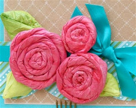 Roses Out Of Tissue Paper - tissue paper cu 1