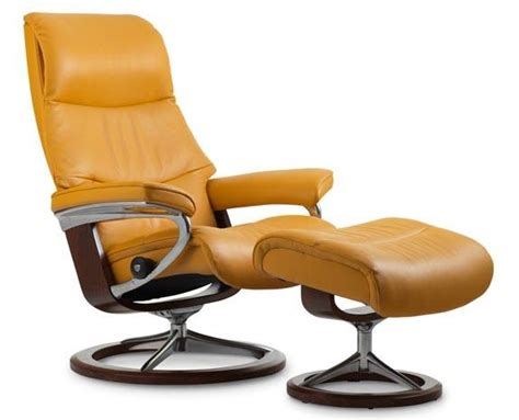 stressless stoel city leather recliner chairs scandinavian comfort chairs