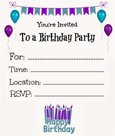 free printable party decorations online new free online printable birthday party invitations