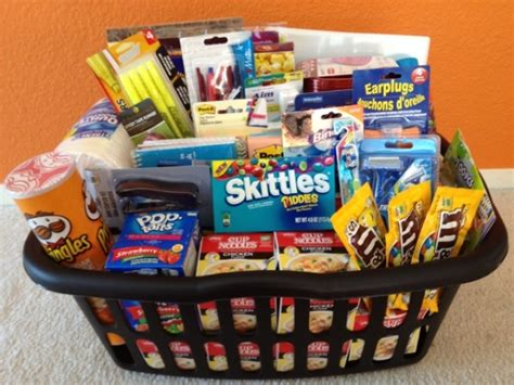 gift baskets for college students college care gift baskets 13 gift basket ideas that rock