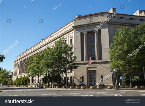 Us Department Of Justice Search United States Department Of Justice Headquarter Building In Washington D C Stock