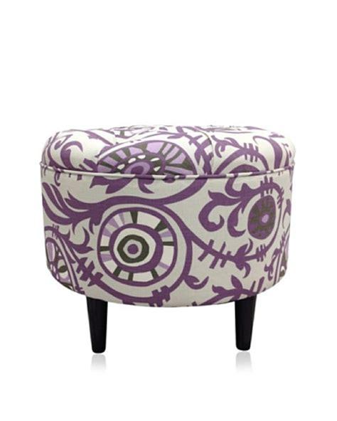 round purple ottoman sole designs passion round ottoman purple ownmodern com