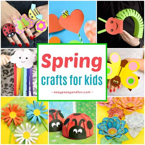 printable art and craft ideas spring crafts for kids art and craft project ideas for