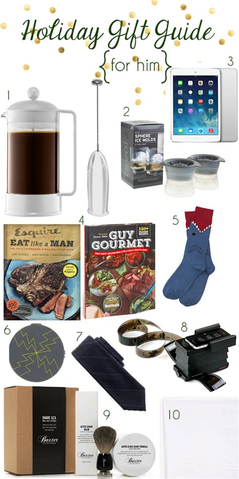 holiday gift guide 2013 for him sugarsocial