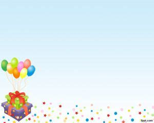birthday powerpoint template balloons powerpoint templates