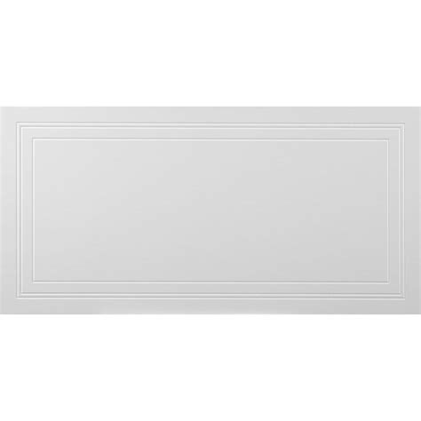 ceiling tiles home depot mono serra wall design 2 ft x 4 ft signature suspended grid panel ceiling tile 32 sq ft
