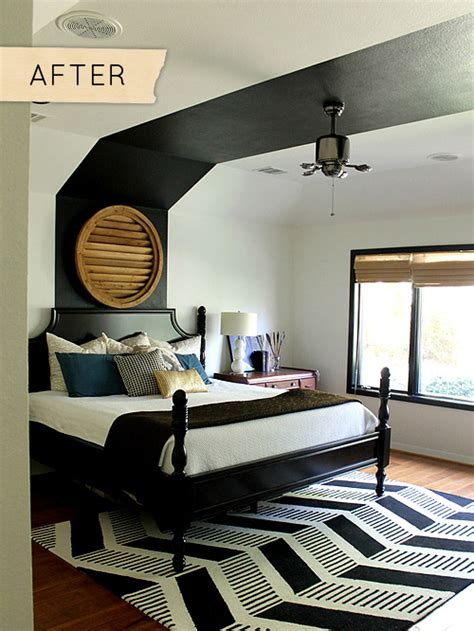 what paint finish for bedroom before after a bedroom freshened with you guessed it