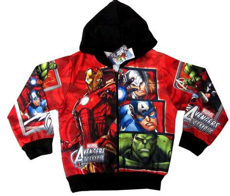 Discon Jaket Avenger Thor assemble iron thor captain america sweatshirt jacket s 4 5y ebay