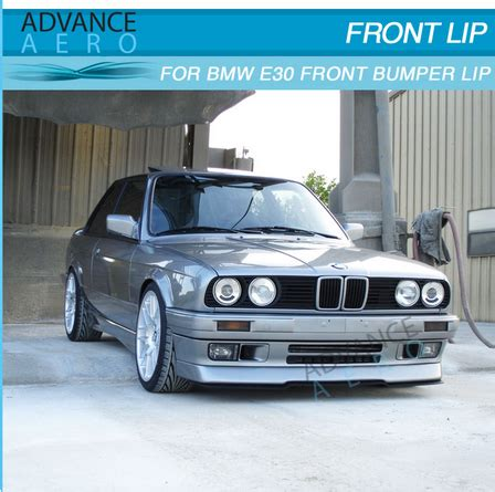 Per Lowering Bmw E30 for 84 85 86 87 88 89 90 91 92 bmw e30 3 series lower valance oe mtech style front bumper lip