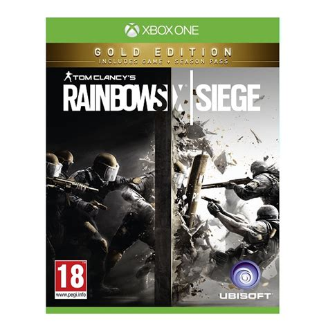 Xbox One Offline Fast Respon 48 Jam tom clancys rainbow six siege gold edition xbox one ps4 j 225 t 233 kok konzolkir 225 ly