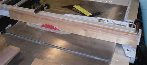 Sacrificial Table Saw Fence Amp Clamps Router Forums