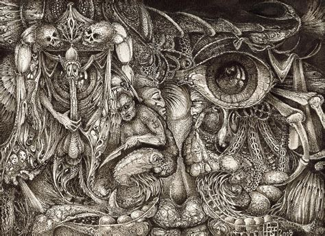 Paper Duvet Tripping Through Bogomils Mind Drawing By Otto Rapp