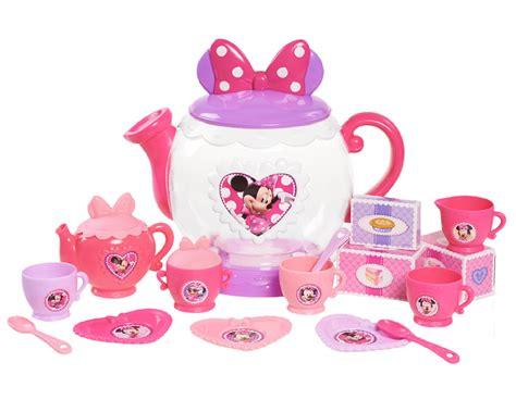 Set Minnie disney teapot play set minnie mouse bow tique toys pretend play dress up