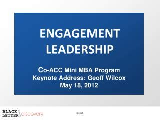 Acc Mini Mba ppt strength based leadership gallup 174 powerpoint