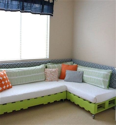make a pallet couch 10 diy simple couch how to make a couch diy and crafts