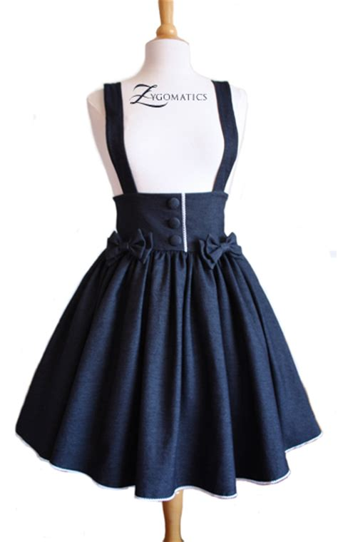 denim high waisted skirt sewing projects