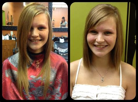 before and after picuters of long to short hair 21 best long to short hair before and after shots images