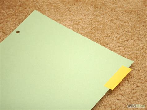 How To Make Paper Dividers - how to make paper dividers 7 steps with pictures wikihow