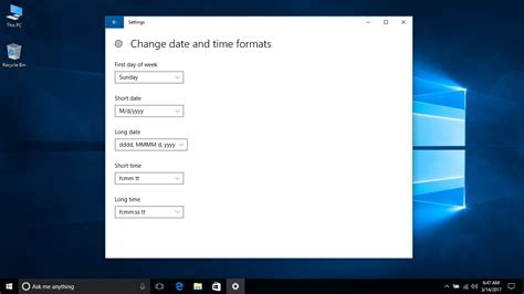 windows 10 reset tutorial windows 10 tutorial change date and time formats