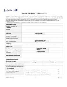 formal risk assessment template risk assessment template free