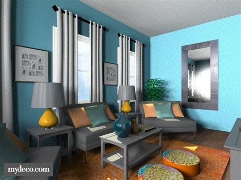 Teal And Orange Living Room by Teal And Orange Living Room For The Home