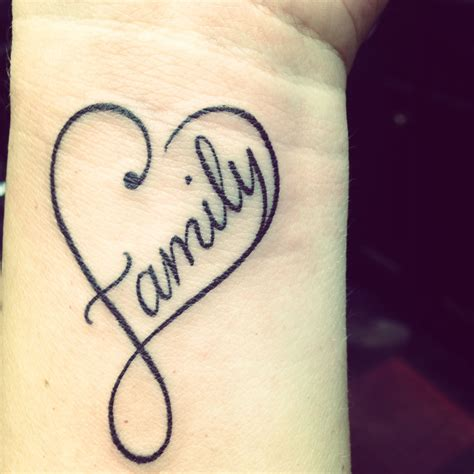 family tattoo on wrist family tattoos tattoos wrist tattoos