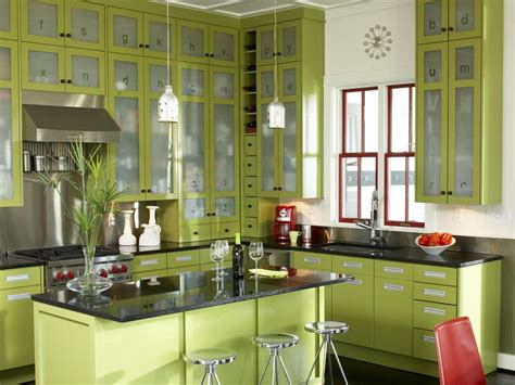 green painted kitchen cabinets green kitchen color schemes www pixshark com images