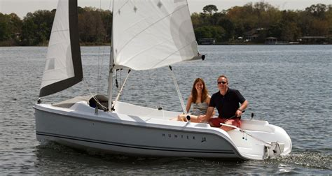 15 Foot Sailboat With Cabin by Sail Home