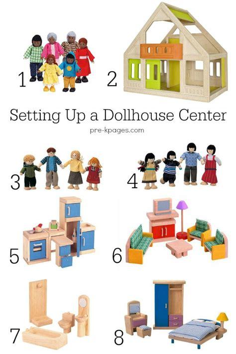 preschool doll house doll house center in preschool pre k or kindergarten