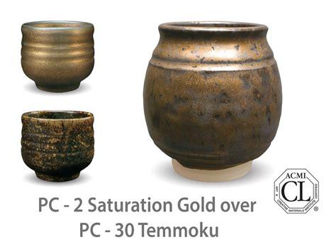 amaco glazes pc 02 saturation gold pc potter s choice