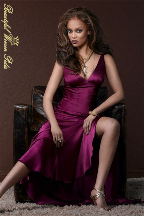 beautiful black women in the united states tyra banks pictures