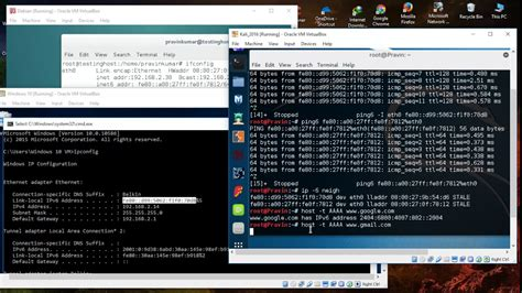 linux tutorial in telugu how to use ping and tracert traceroute command for ipv6