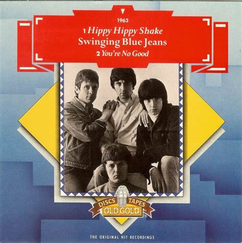 the swinging blue jeans hippy hippy shake 45cat the swinging blue jeans hippy hippy shake you